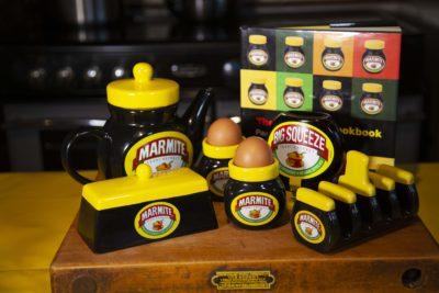 Marmite Savoury Heart Cheesecake