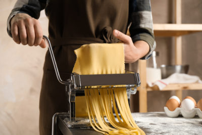Lock Down Love In Pasta machine